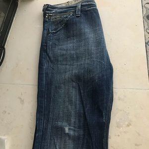 fb8289679f7 G-Star Jeans | Gstar Raw 40 X 32 3301 Se 11 01 Studded | Poshmark